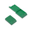 TAPED Green Biopsy Cass w/lid (Cs/1000)