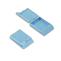 TAPED Blue Biopsy Cass w/lid (Cs/1000)