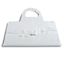 "Poly Disposable Aprons 46"" L"