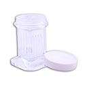 Glass Coplin Jar w/Screw Cap - 10 slide