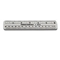 "Transparent 6"" Ruler"