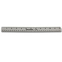 "Transparent 12"" Ruler"